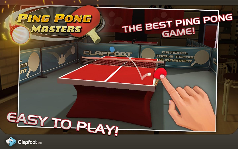 Ping Pong Masters - Imagem 1 do software