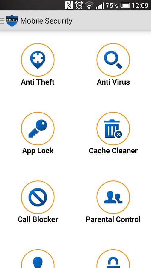 Bastiv Security Antivirus - Imagem 1 do software