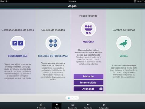 Fit Brains Trainer - Imagem 3 do software