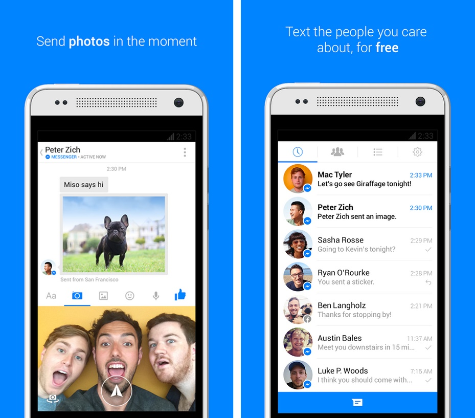 Facebook Messenger - Imagem 1 do software
