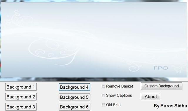 Windows Media Player 12 Customizer - Imagem 1 do software