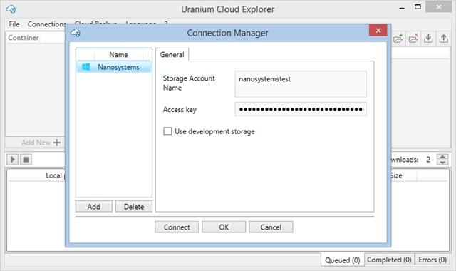 Uranium Cloud Explorer - Imagem 1 do software