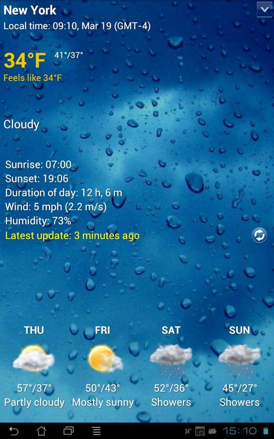 Sense V2 flip clock & weather - Imagem 1 do software