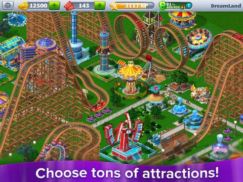 RollerCoaster Tycoon® 4 Mobile - Imagem 1 do software