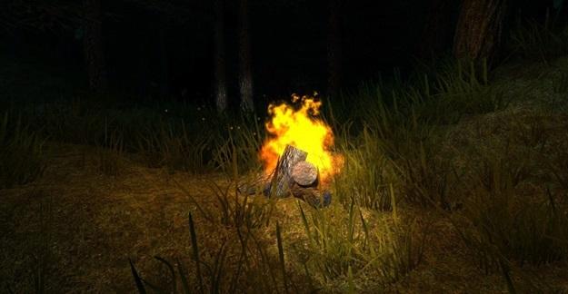 A sua fogueira