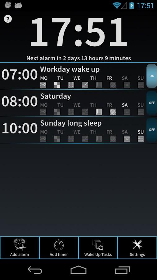 I Can`t Wake Up! Alarm Clock - Imagem 1 do software