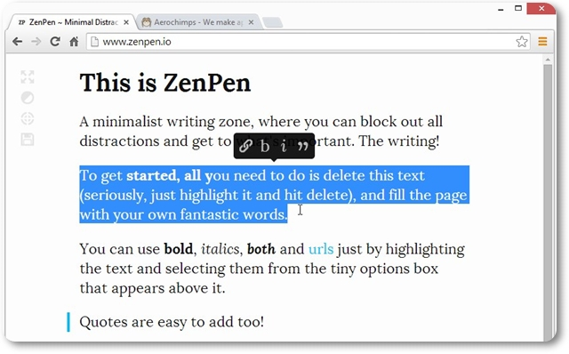 ZenPen - Imagem 1 do software