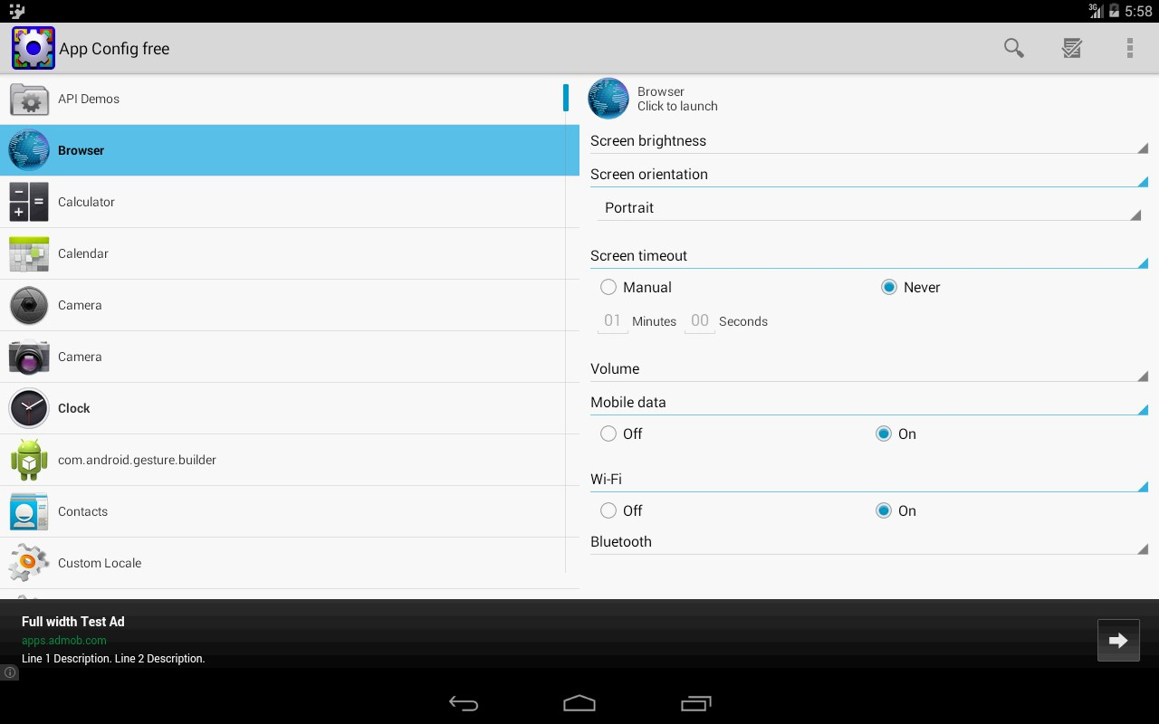 App Config free - Imagem 1 do software