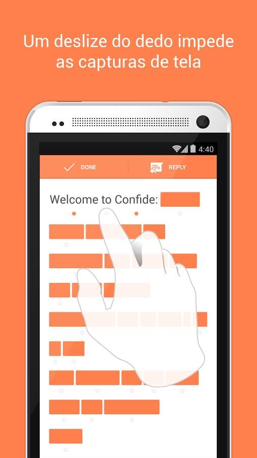 Confide - Imagem 1 do software