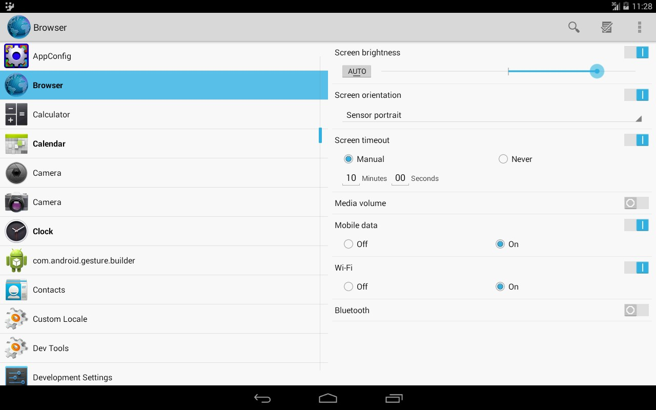 App Config - Imagem 1 do software