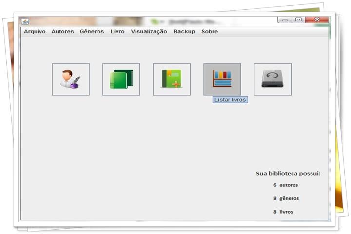 Biblioteca Pessoal - Imagem 1 do software