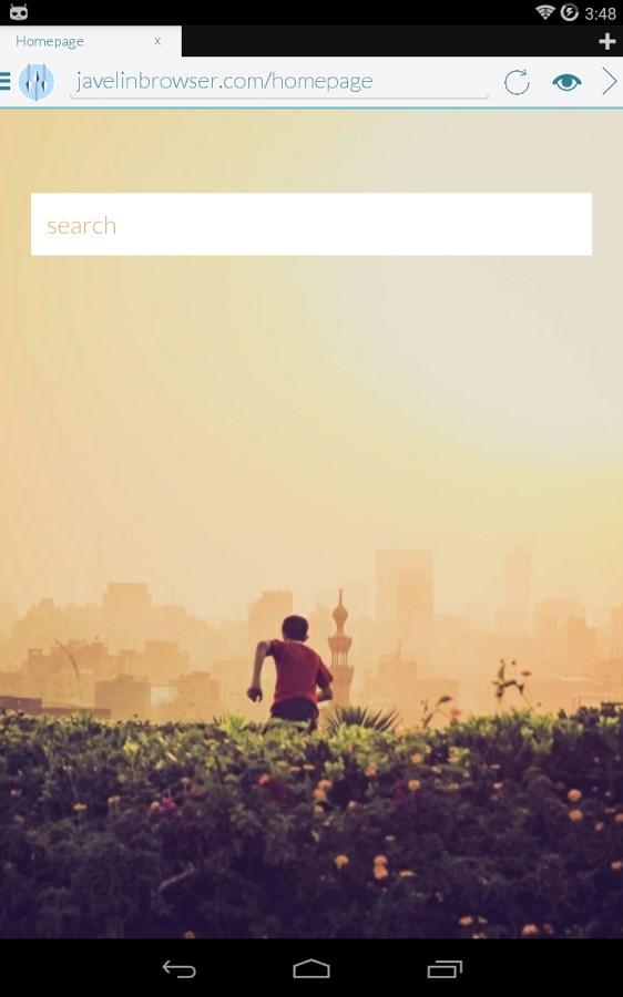 Javelin Browser - Imagem 1 do software