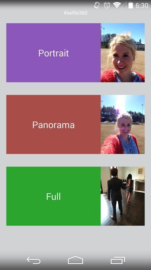 Selfie360 - Imagem 2 do software