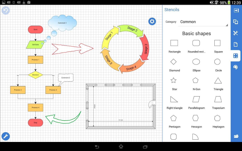 Grapholite Diagrams Pro - Imagem 1 do software