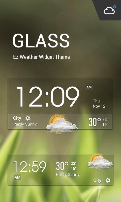 Transparent Clock & Weather - Imagem 1 do software