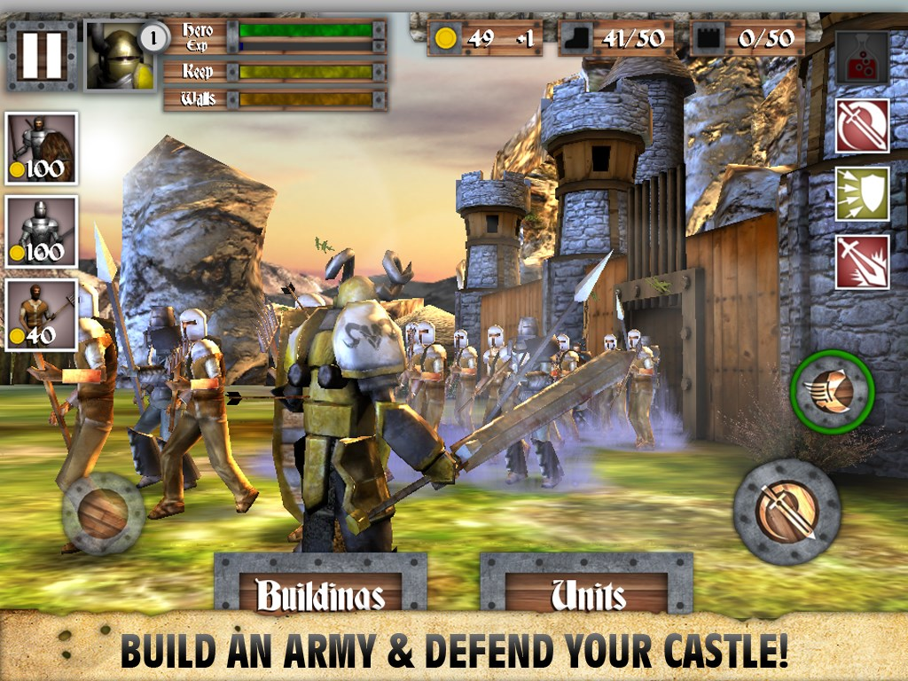 Heroes and Castles - Imagem 1 do software