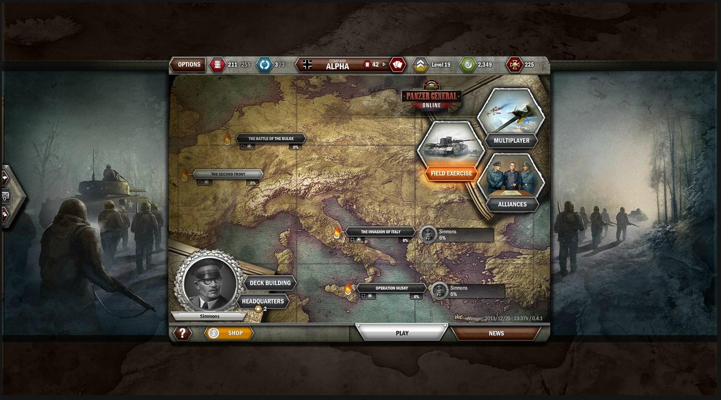 Panzer General Online - Imagem 2 do software