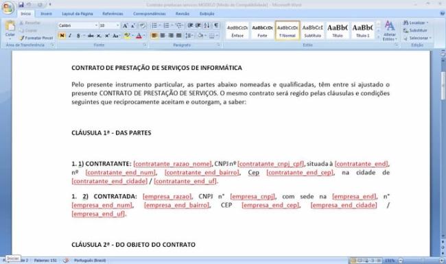 MaxContratos - Imagem 1 do software