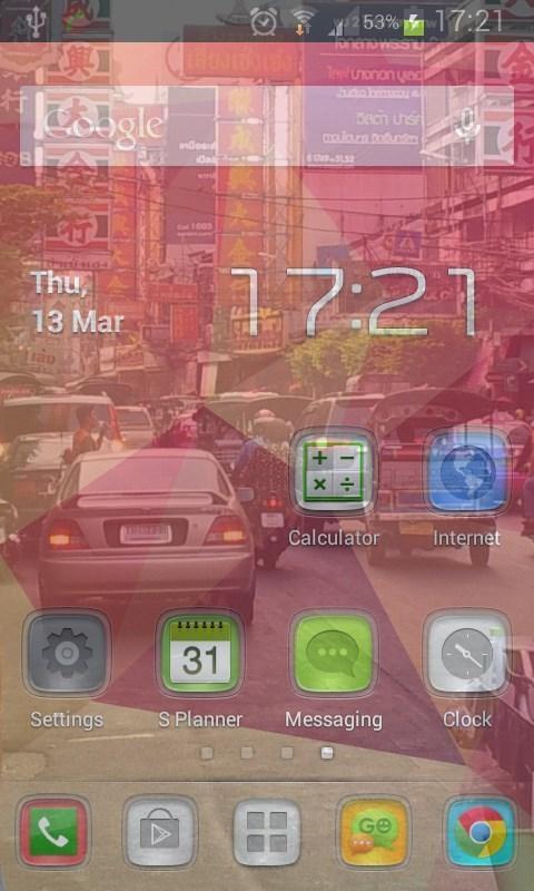 Transparent Phone Screen HD - Imagem 1 do software