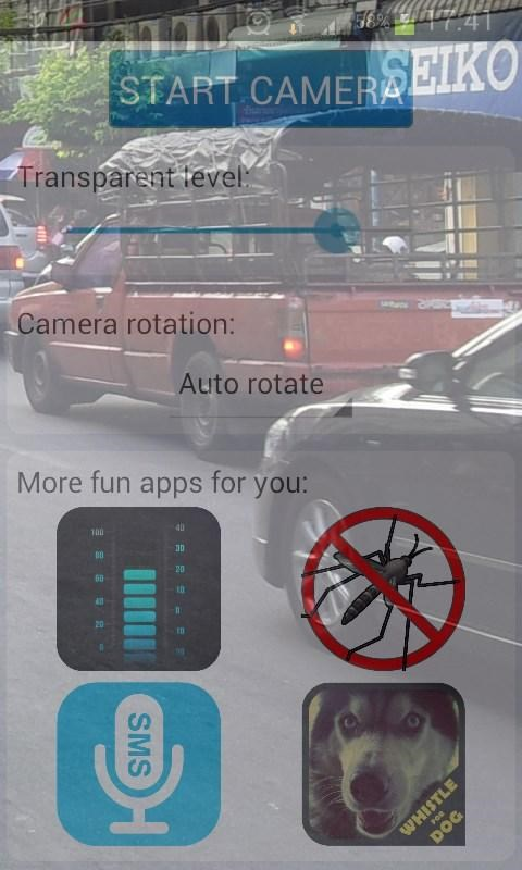 Transparent Phone Screen HD - Imagem 2 do software