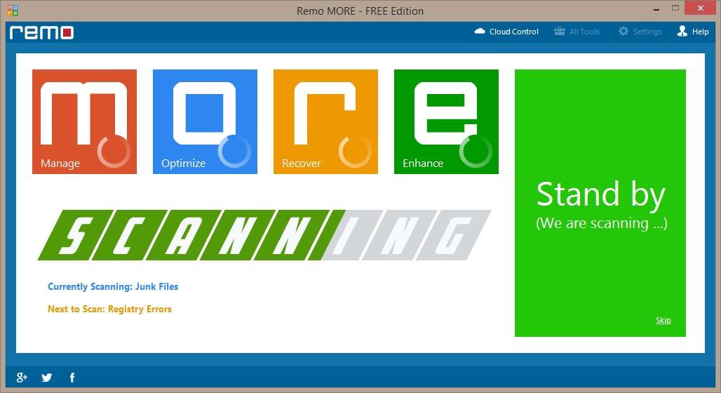 Remo MORE - Windows - Imagem 2 do software