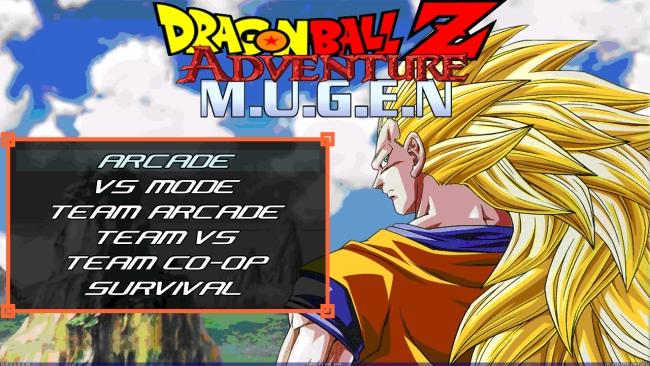 Dragon Ball Z Adventure M.U.G.E.N - Imagem 1 do software