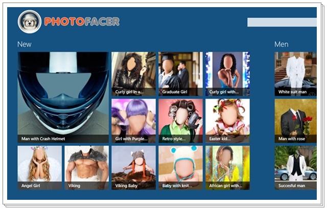 PhotoFacer - Imagem 1 do software