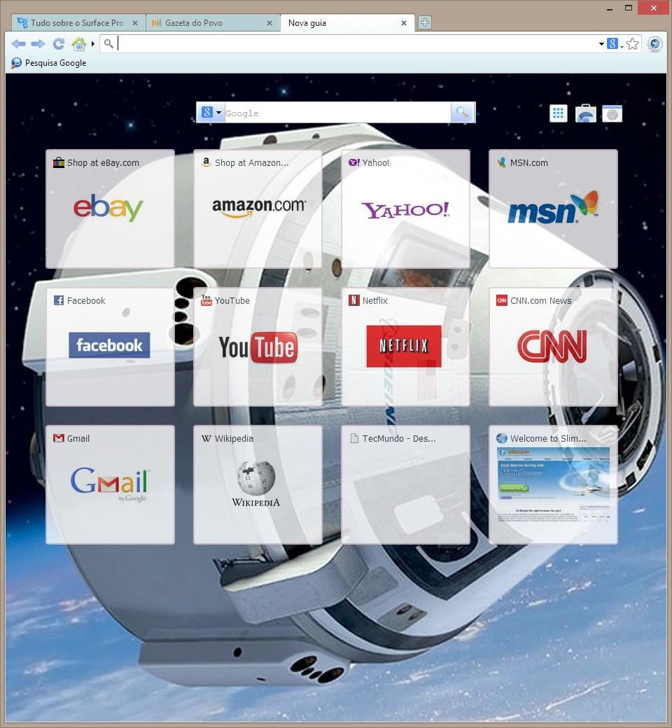 Slimjet - Imagem 1 do software