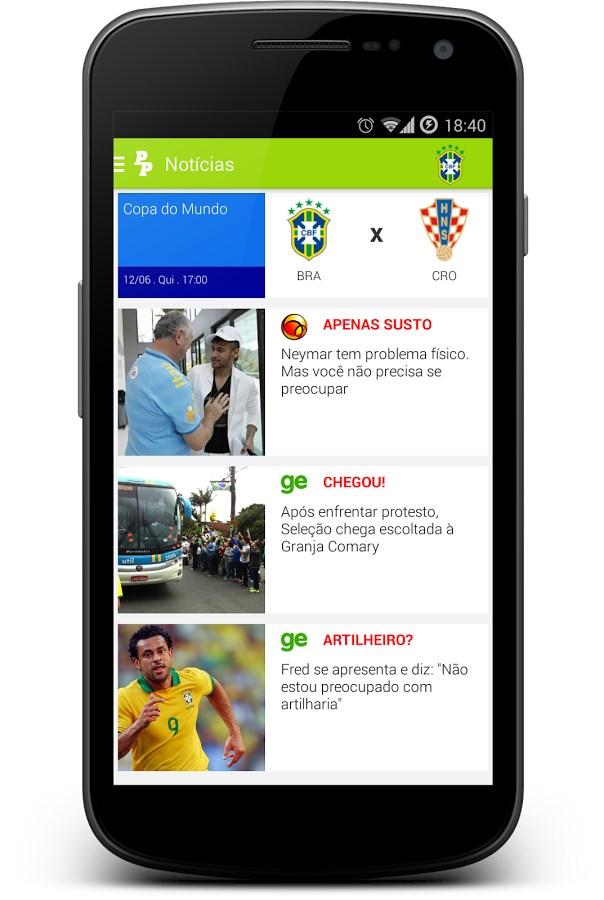 Palpiteros Notícias Bolão - Imagem 1 do software