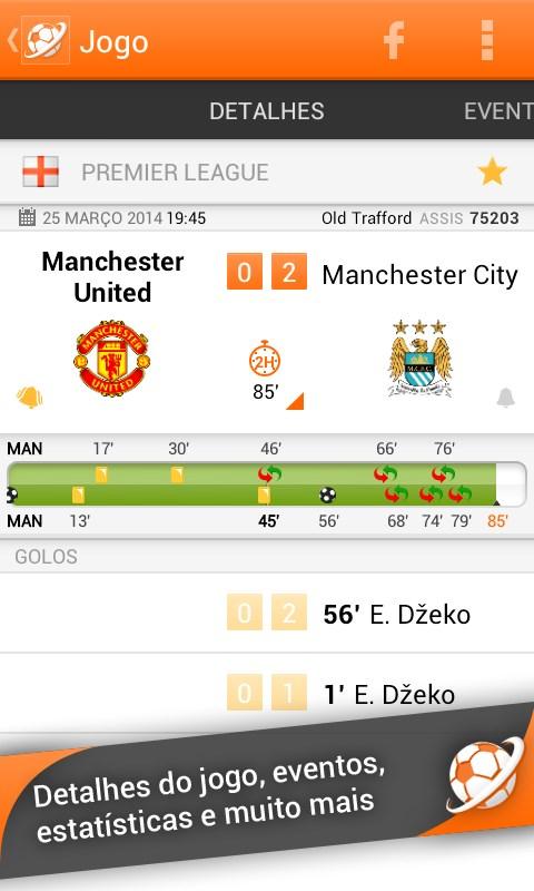 LiveSoccer - futebol ao vivo - Imagem 1 do software