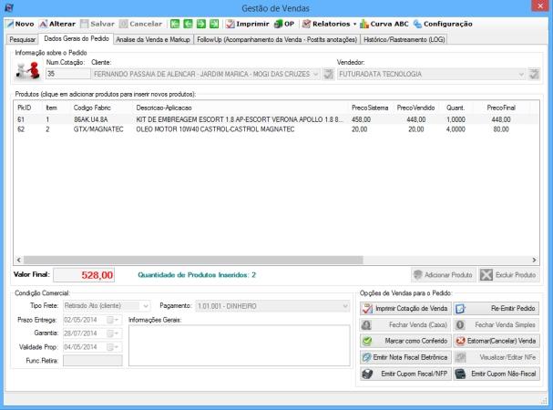 FuturaData Business - Imagem 1 do software