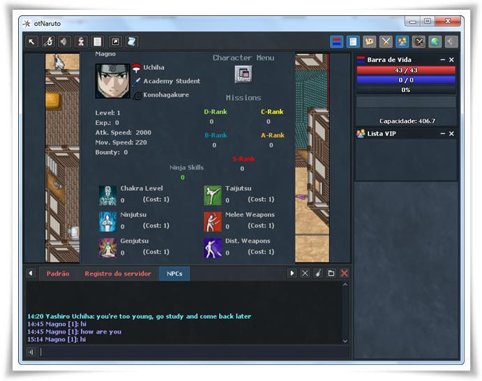 otNaruto Online - Imagem 2 do software
