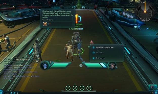 Interface do game