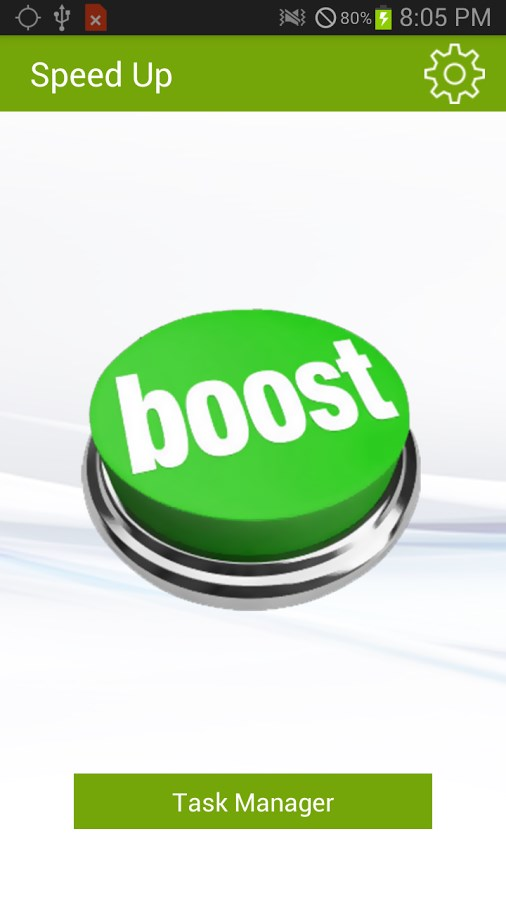 Advanced Android Speed Booster - Imagem 1 do software