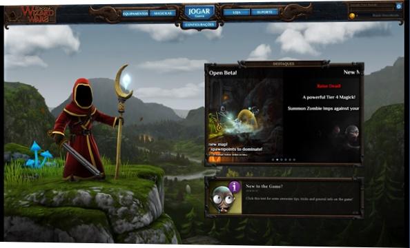 Tela principal do jogo