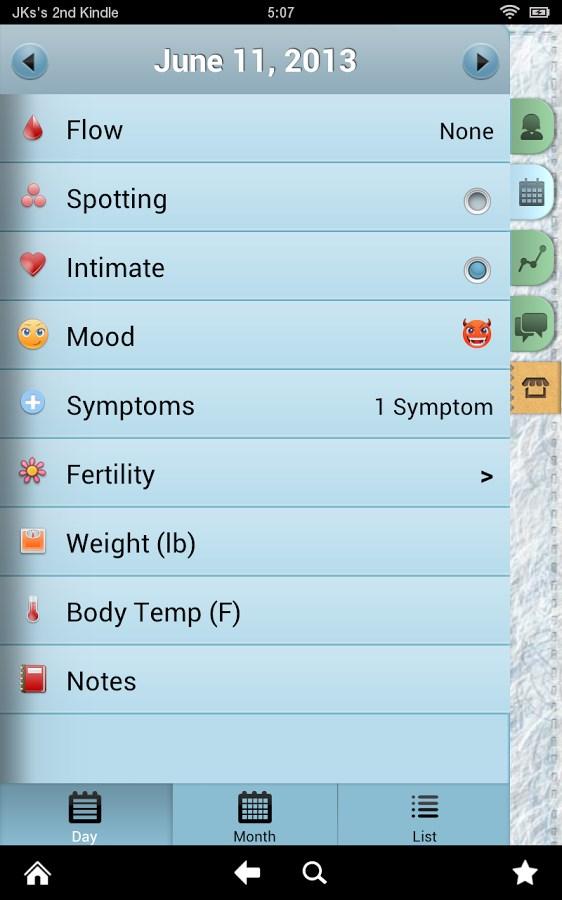 Gestor Período Pro (Pink Pad) - Imagem 2 do software