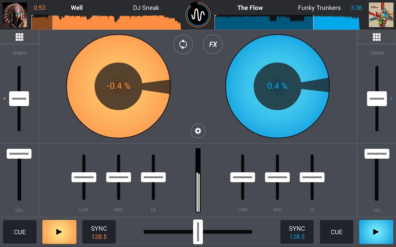 Cross DJ Free - Mix Your Music - Imagem 1 do software