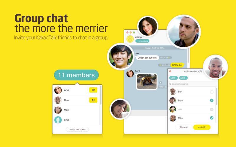KakaoTalk Messenger - Imagem 1 do software