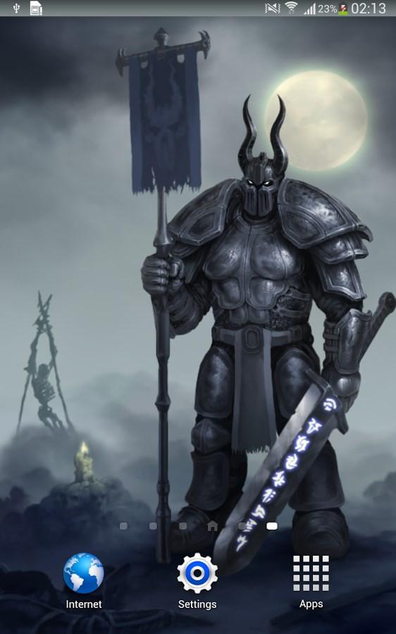 Moon Knight Fantasy Wallpaper - Imagem 1 do software