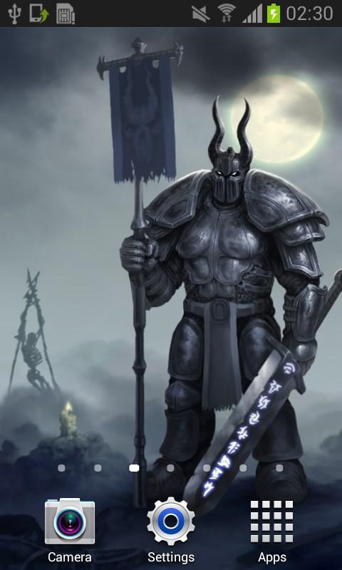 Moon Knight Fantasy Wallpaper - Imagem 2 do software