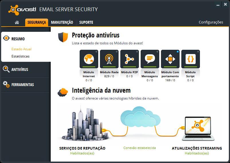 Avast! Email Server Security - Imagem 1 do software