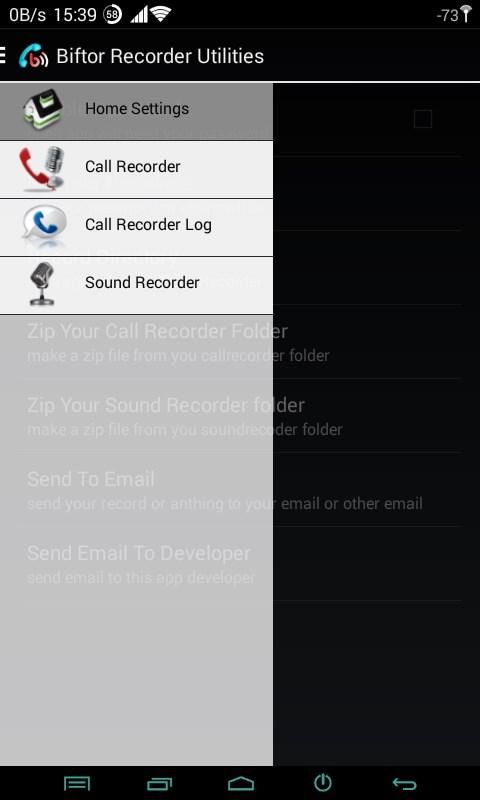Biftor Recorder Utilities - Imagem 1 do software