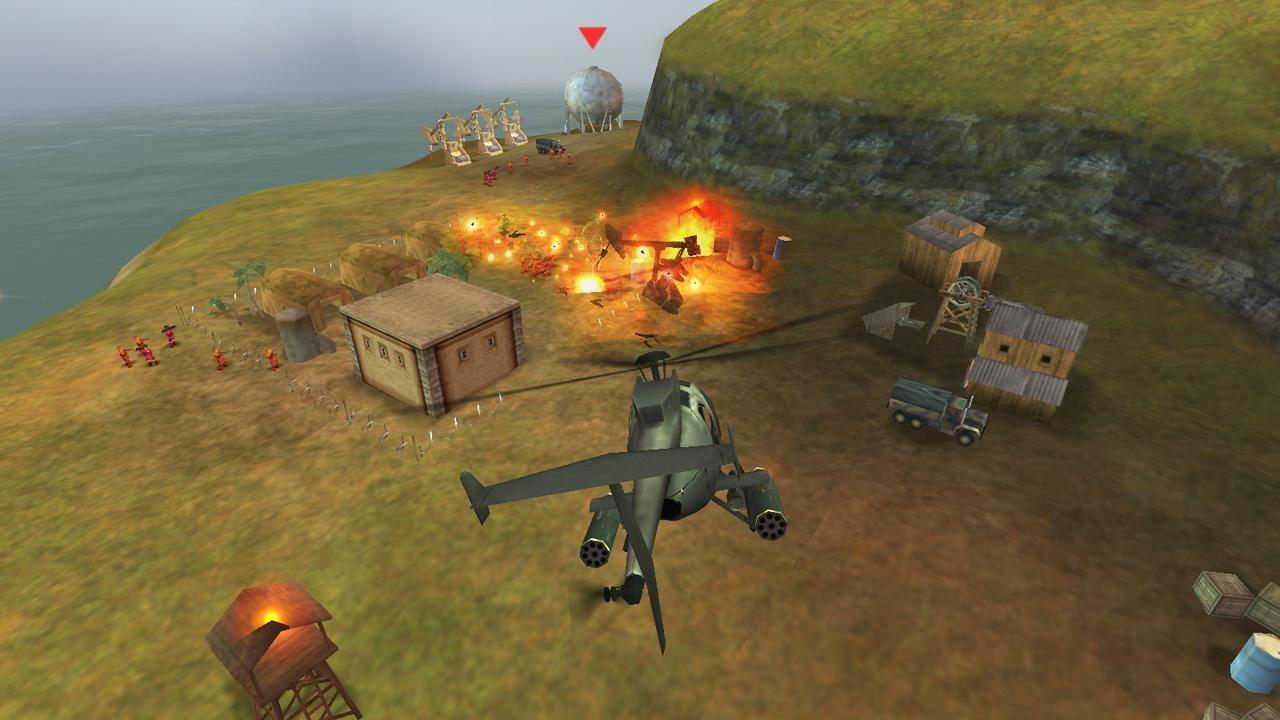 GUNSHIP BATTLE : Helicopter 3D - Imagem 1 do software