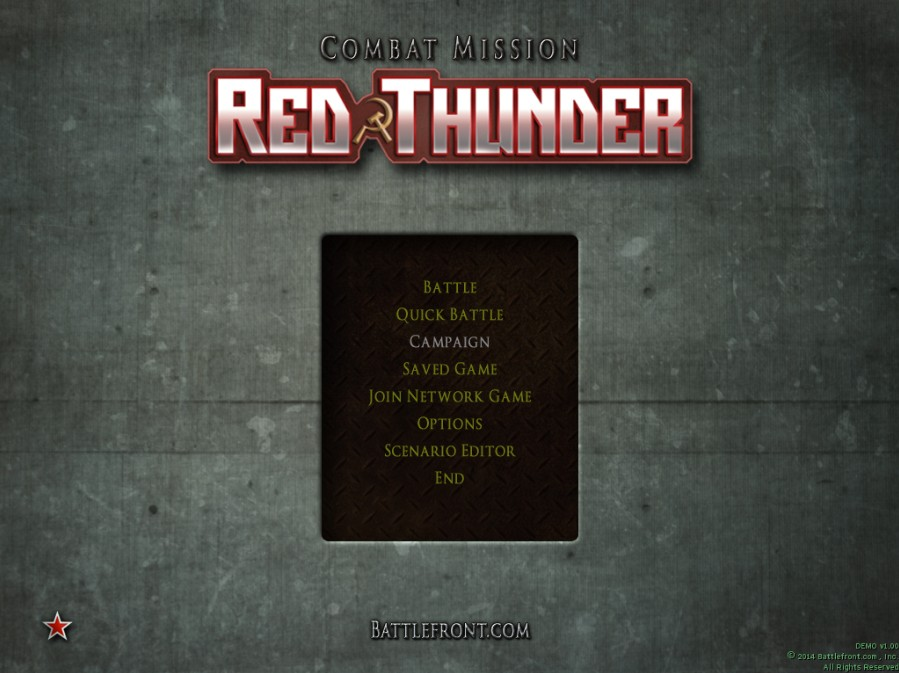 Combat Mission: Red Thunder - Imagem 2 do software