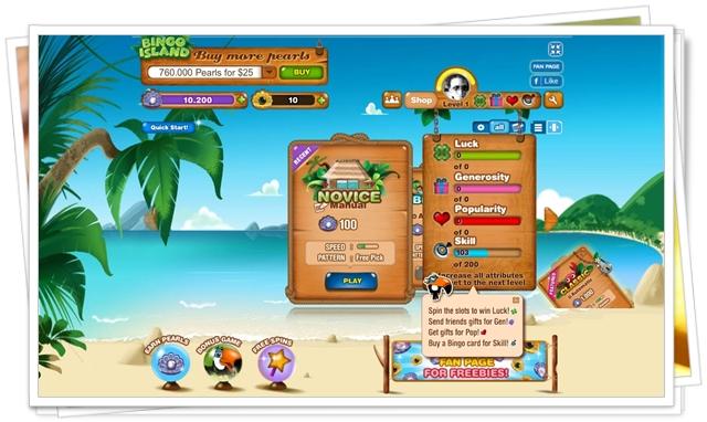 Bingo Island - Imagem 2 do software