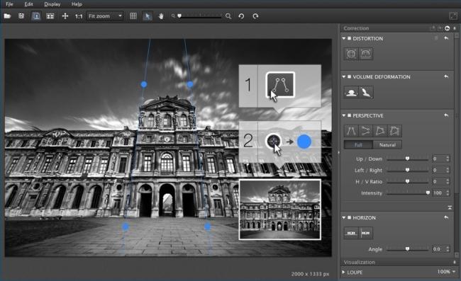 DxO Viewpoint - Imagem 1 do software