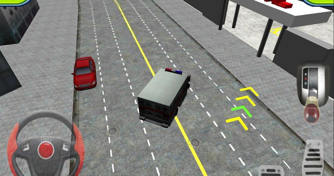 Ambulance Parking 3D Extended - Imagem 1 do software