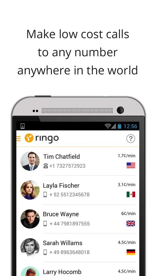 Ringo: International Calling - Imagem 1 do software