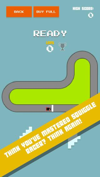 Squiggle Racer 8 Bit Race Game - Imagem 1 do software
