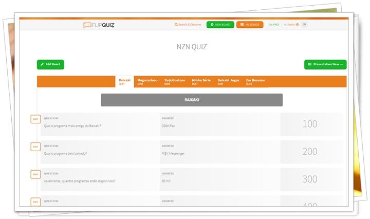 FlipQuiz - Imagem 2 do software